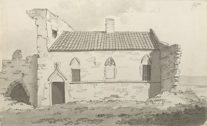 House Island or Inner Farne, chapel